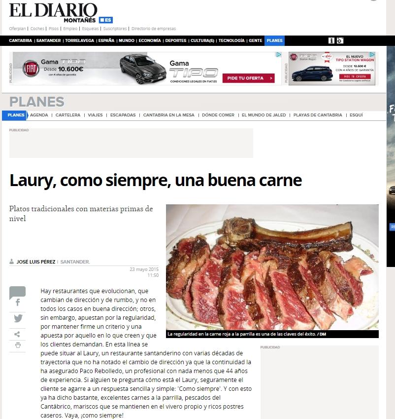 portada laury diario